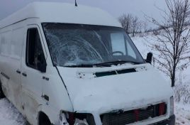 Man hit by a car on the Chisinau-Cimislia route