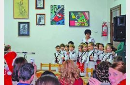 Children from kindergarten Nb. 40 in Chisinau learn the traditions