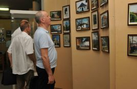 """In the footsteps of Mihai Eminescu. 100 photos ""- the generic of an exhibition opened in Chisinau"