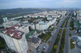 Square in the Ciocana sector in Chisinau is being arranged