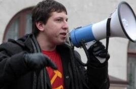 Activist Pavel Grigorciuc under house arrest