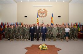 KFOR-10 soldiers awarded by Moldovan Defense Minister